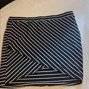 Torrid striped pencil skirt